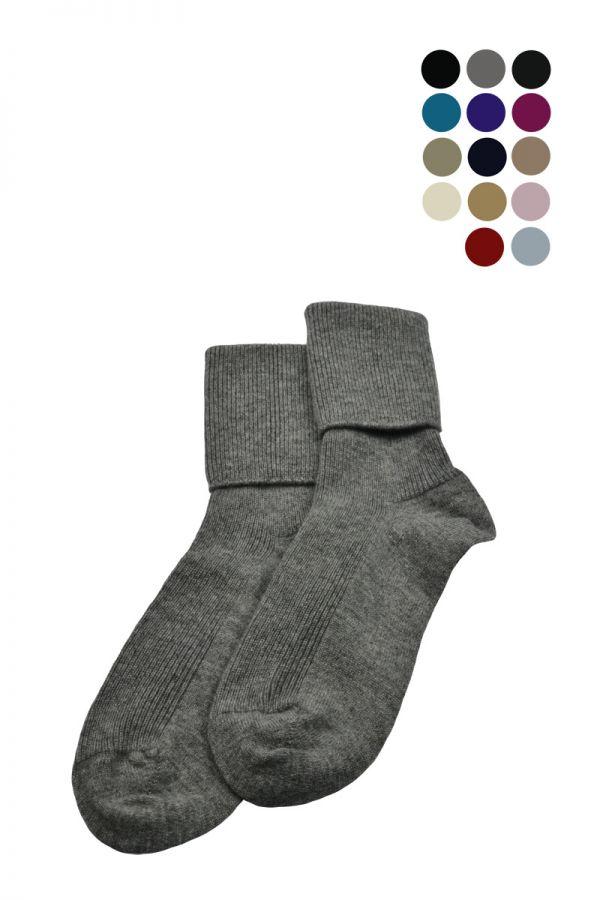 Womens Scottish Cashmere Socks. 16 colours