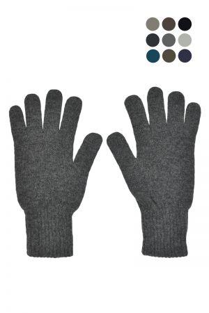 Mens Scottish Lambswool Classic Gloves