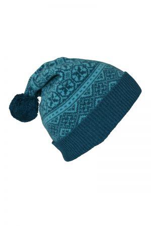 Rubislaw Fair isle Ski hat - Teal