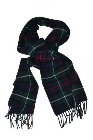 Scottish Lambswool Tartan Scarf - Mackenzie