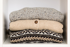 Natural, sustainable Scottish knitwear