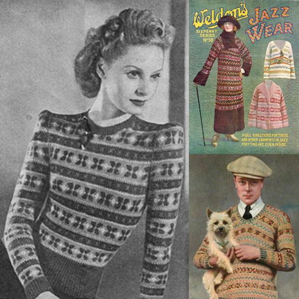 Fair isle knitting - a history