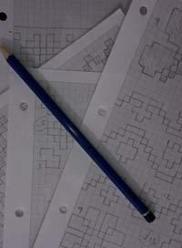 Fair isle sketch pad