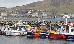 Scalloway Shetland Isles