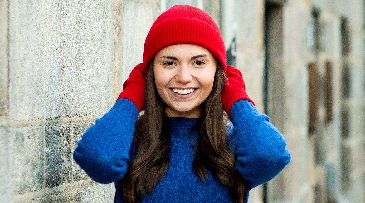 Womens wool hats, gloves, scarves 2021