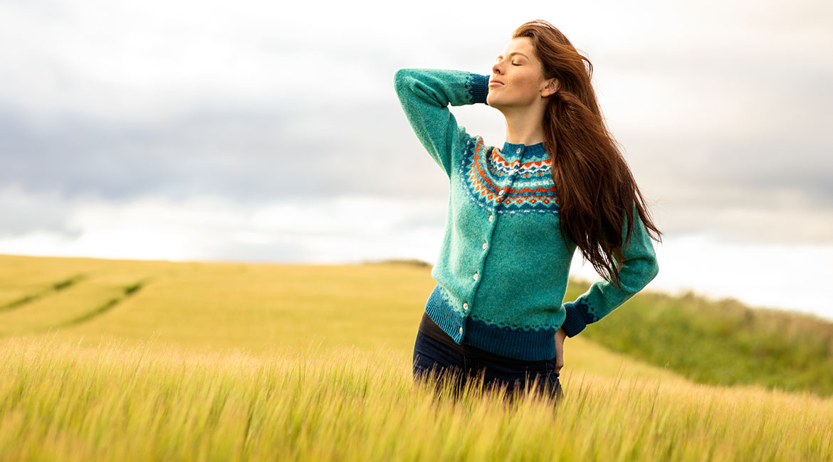 Winter 2020 womens jumpers and cardigans. fair isle for Christmas