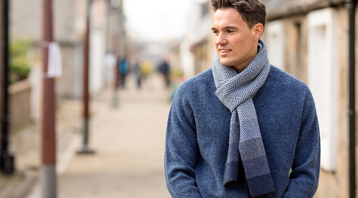 mens wool scarves. gloves and hats