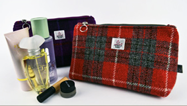 Harris Tweed Cosmetic Bag