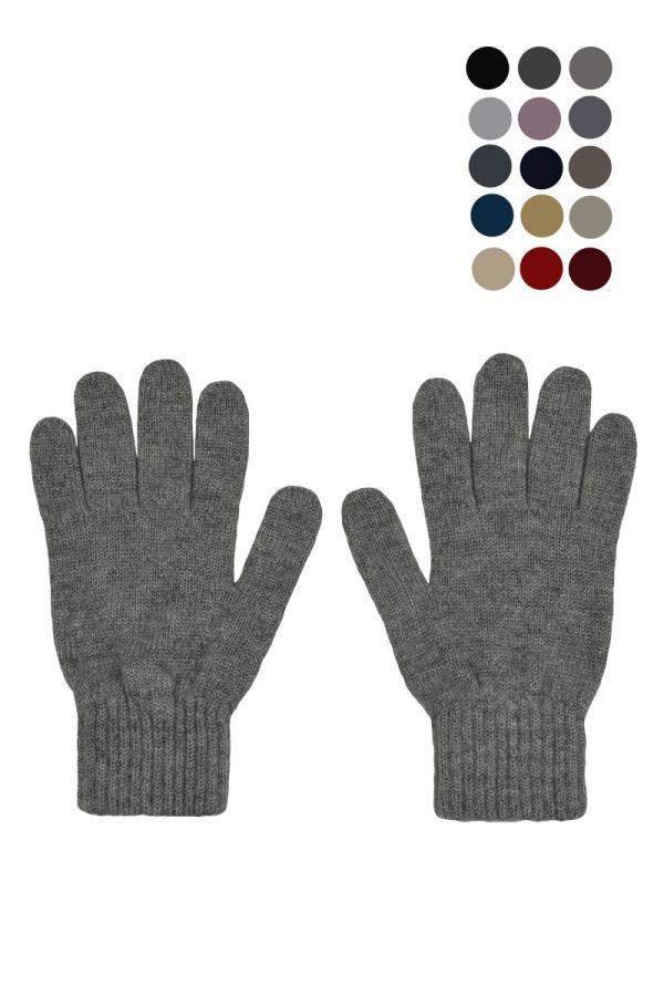 Womens cashmere classic gloves. Scottish cashmere