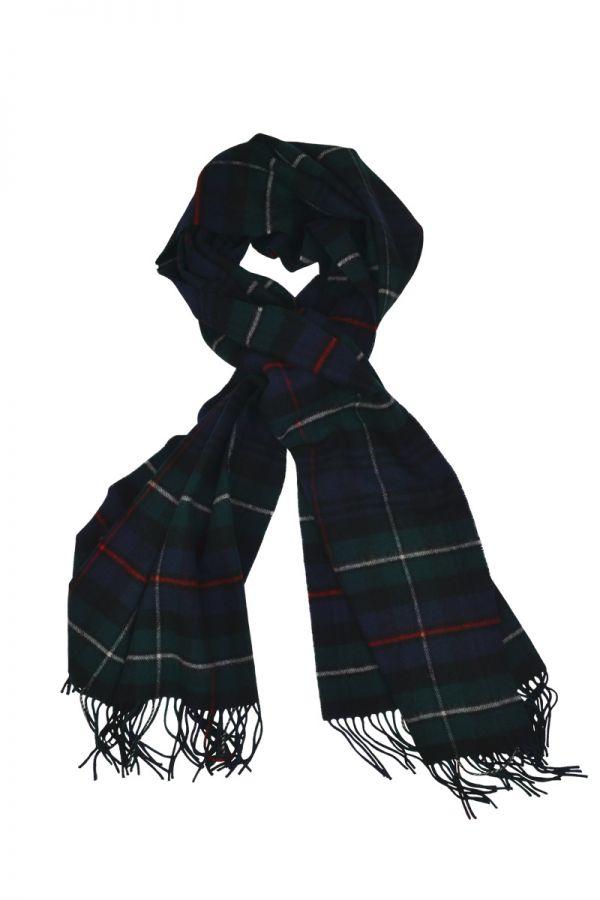Mackenzie Tartan Stole Blanket Scarf. Scottish Lambs wool