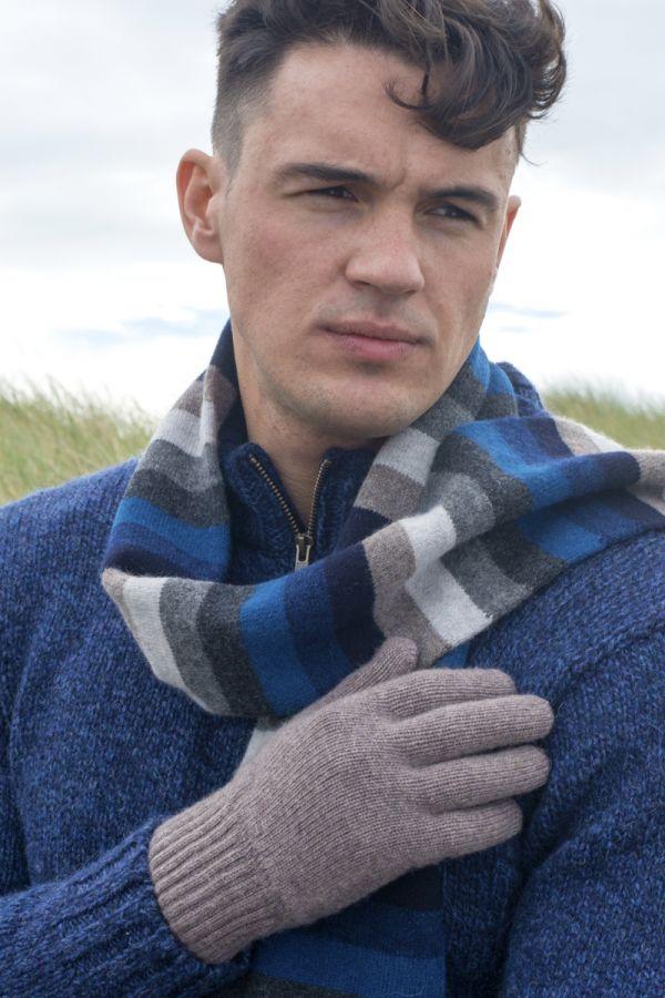 Mens Scottish Cashmere Classic Glove