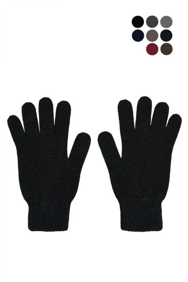 Mens Scottish Cashmere Classic Glove - 8 colours