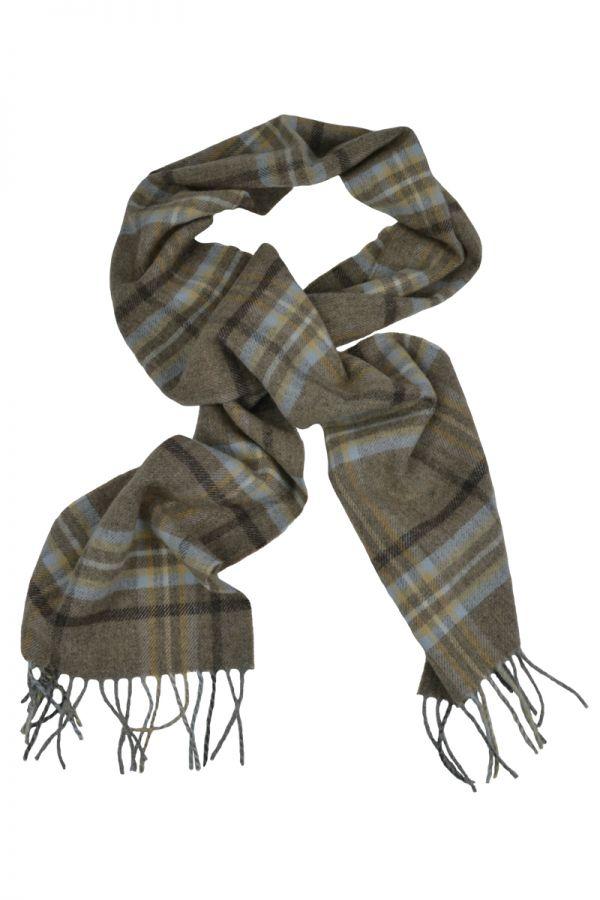 Scottish Lambswool Tartan Scarf. Drybridge
