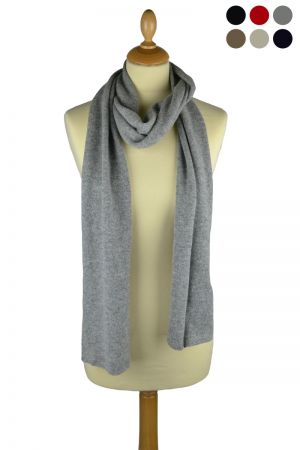 Scottish Cashmere Knitted Scarf