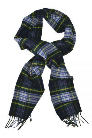 Scottish Lambswool Tartan Scarf - Dress Gordon