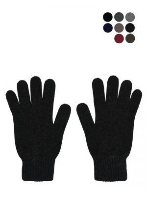 Mens Scottish Cashmere Classic Gloves
