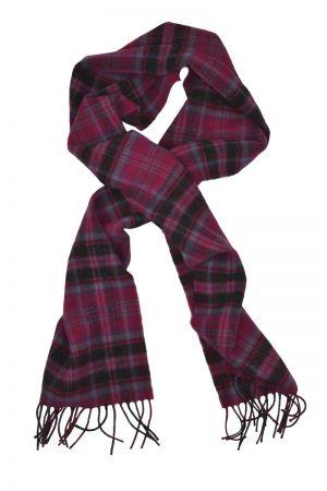 Scottish Lambswool Tartan Scarf - Grant