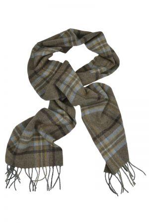 Scottish Lambswool Tartan Scarf - Drybridge